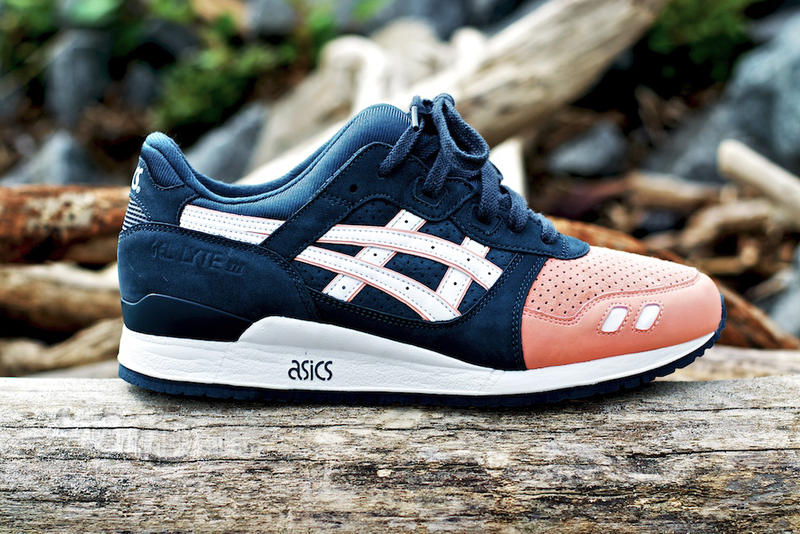 """buy popular 9252c 29587 The Ronnie Fieg x ASICS Gel Lyte III """"Salmon Toe"""" will finally see a release.  The once"""