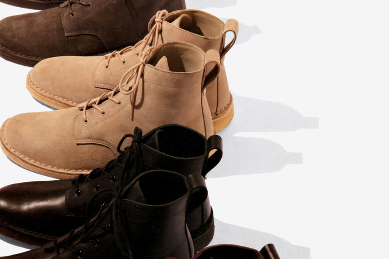 3a1235e0610be5 Supreme once again work with British shoe manufacturer Clarks on these new winter  boots. Four