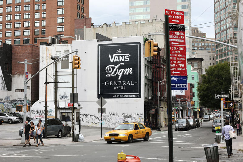 The Vans DQM General shop is DQM s second brick and mortar store in  collaboration with skate 9e203d5e50dd