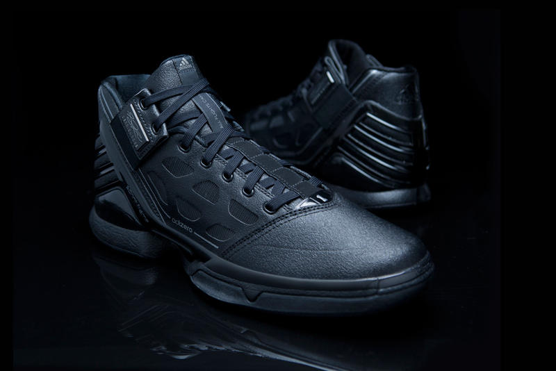 "hot sale online 643e7 ecf65 The adidas adiZero Rose 2 ""Triple Black"" is meaner looking than the Chicago  Bulls point guard s"