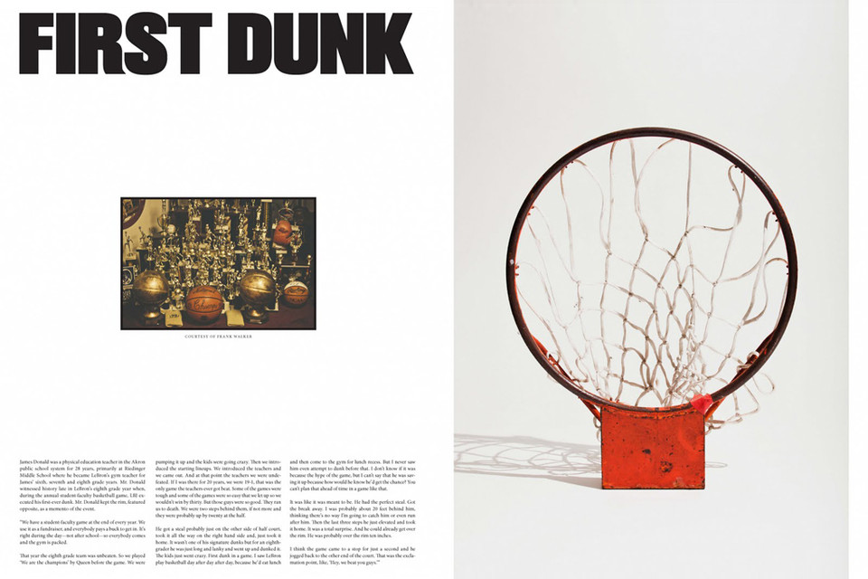 new arrival dd49b 28af6 Nike Presents First Dunk  A Story About LeBron James