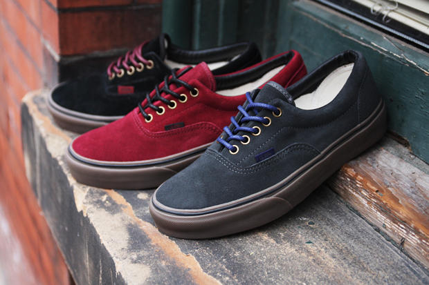 de3078469d Premier has taken stock of the the latest Vans Era Suede Pack for Fall Winter  2011. Deeply tinted