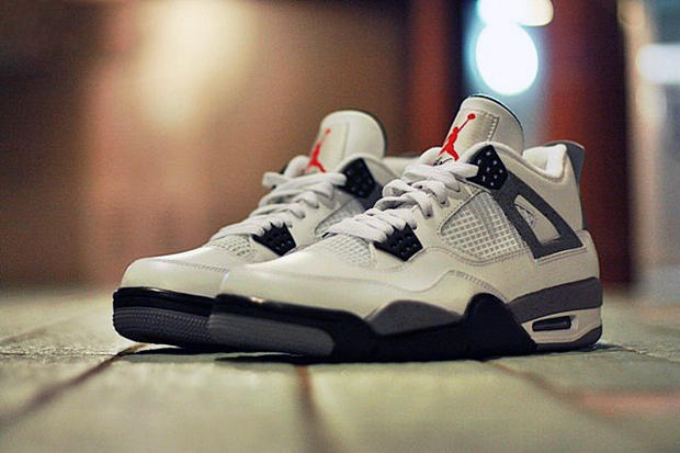 8259ef01881611 Air Jordan IV 2012 White Cement Grey Retro Preview