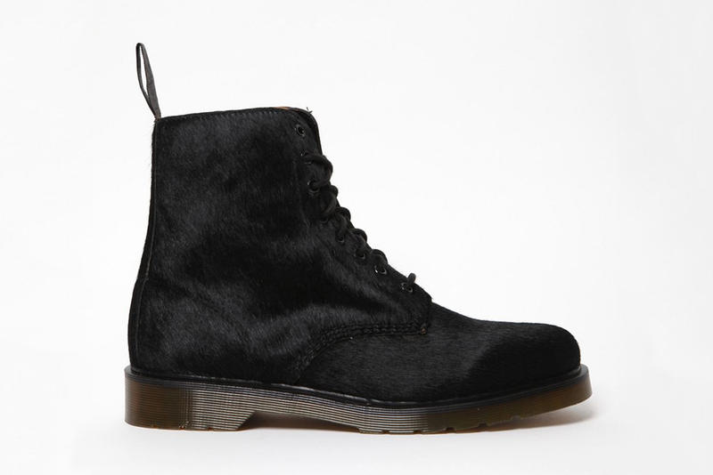 the best attitude c203f 522cf For Fall Winter 2011, Dr. Martens has reproduced its iconic eight-hole Pascal  Boot with a more