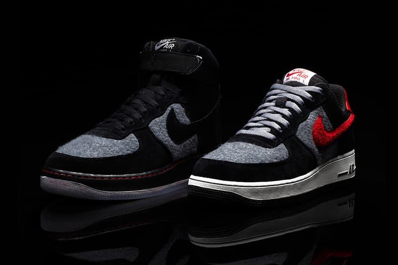quality design 8c6fd c7ba8 Nike iD Air Force 1 Limited Edition Wool Option