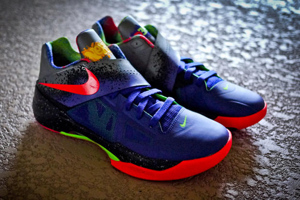 "uk availability 2bb6b 9e289 Nike Zoom KD IV ""Nerf"" Further Look"
