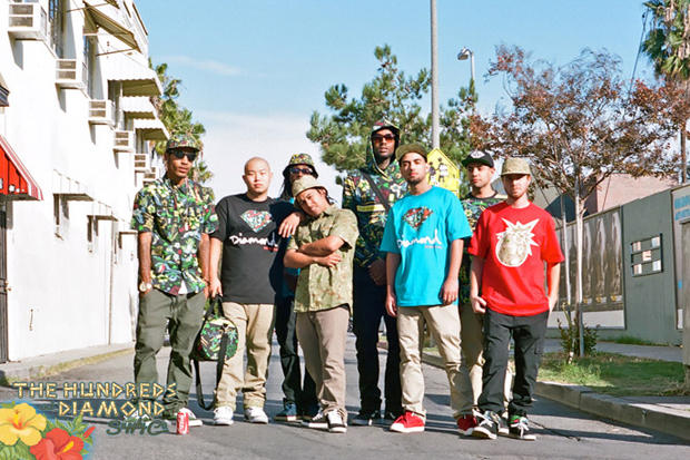 7b34fe3a9 Los Angeles residing streetwear labels The Hundreds and Diamond Supply Co.  team up for what is