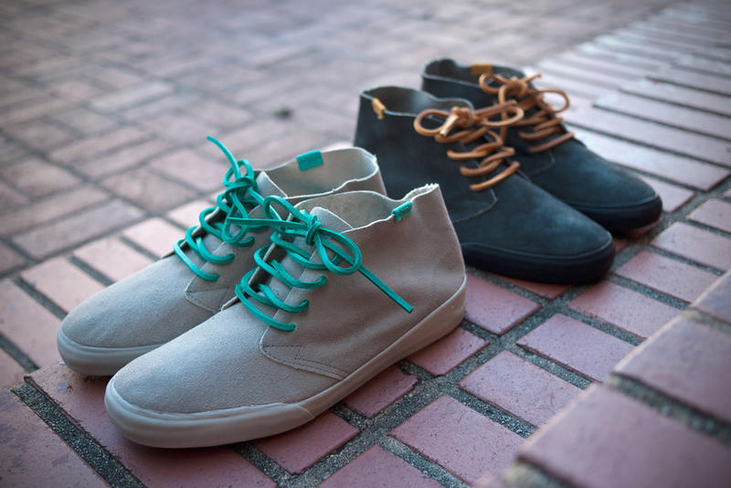 Yesterday we got a look at the über-stylish Vans Vault Chukka Bardenas LX  in leather. Now comes 95c2f3d28