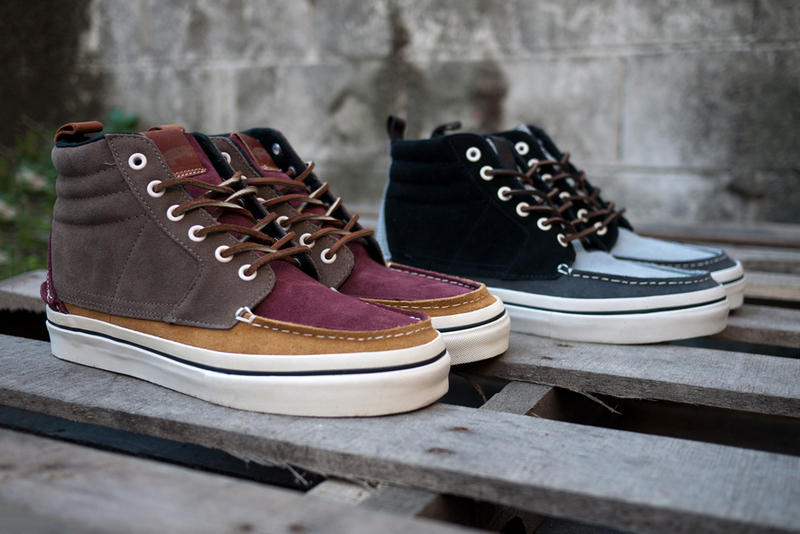 Vans Vault Sk8-Hi Boat LX. Those summertime boat rides may be all but a  memory at this point 6196fe79f