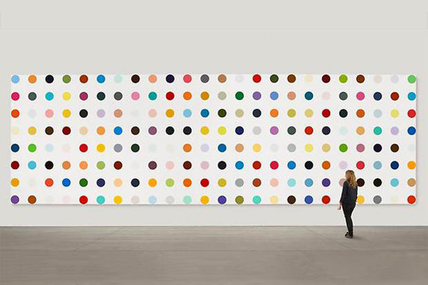 Damien Hirst The Complete Spot Paintings 1986 2011 Hypebeast
