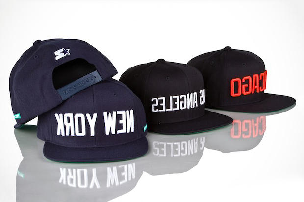 New York s Mighty Healthy rolls out a new set of Starter snapback caps.  This time around e3c048ece228