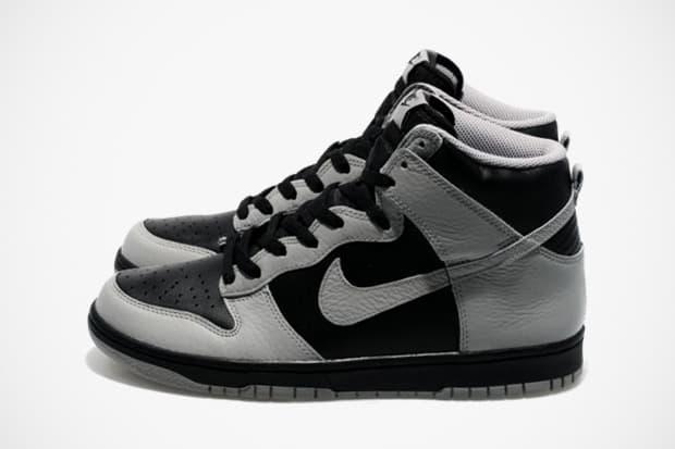 Nike Sportswear Dunk High Black Medium Grey  26d42b8172a4