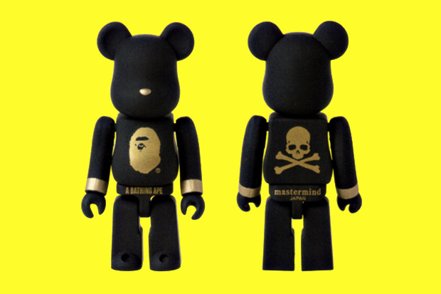 Lot Of 2 Mastermind Japan X Bearbrick X Sense Mouse Pad By Medicom toy Brand New