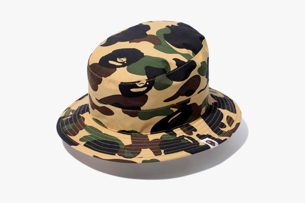 8a8a27d120b A Bathing Ape debuts its latest camouflage iteration via the 1ST CAMO GORE- TEX BOONIE HAT. The
