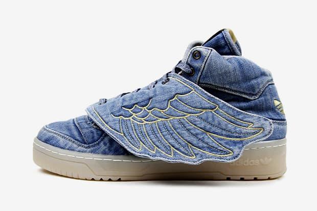 separation shoes 2e709 64595 adidas Originals by Jeremy Scott JS Wings Denim Further Look