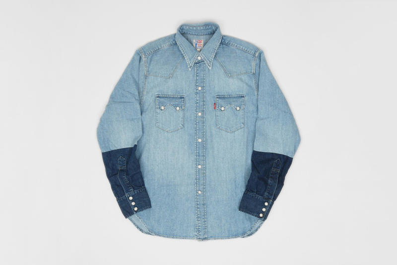 1acc6abd18a Levi s  classic Sawtooth denim work shirt from the mid-1950s gets a vintage  recreation worthy of