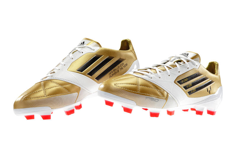 c5ab2c7b14db adidas celebrates Messi's third consecutive FIFA Ballon D'Or with a special  edition F50 adiZero in
