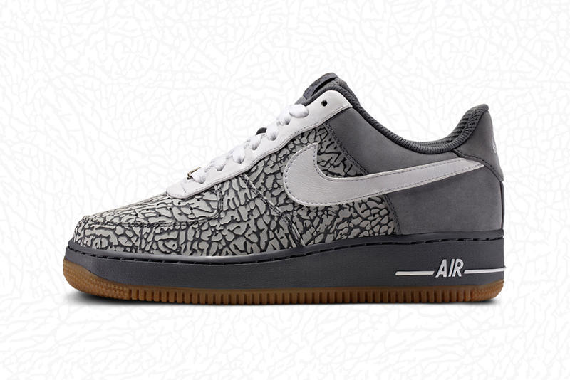 Nike Air Force 1 iD  Elephant Print Option. New from Nike s customizable  sneaker lab 2d88a97ef
