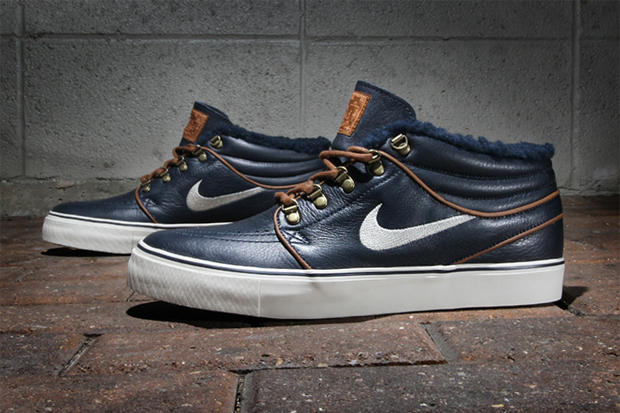 """b881aaf200ce The Nike SB Stefan Janoski """"Inuit"""" Premium is a mid-top sneaker that  features a familiar silhouette"""