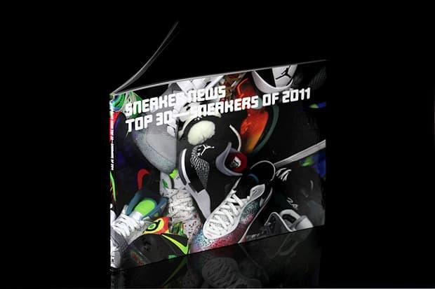 e094f105e9 Sneaker News  Top 30 Sneakers of 2011 Book