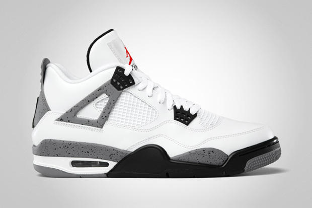 Air Jordan IV 2012 White Cement Grey Retro  404726df3