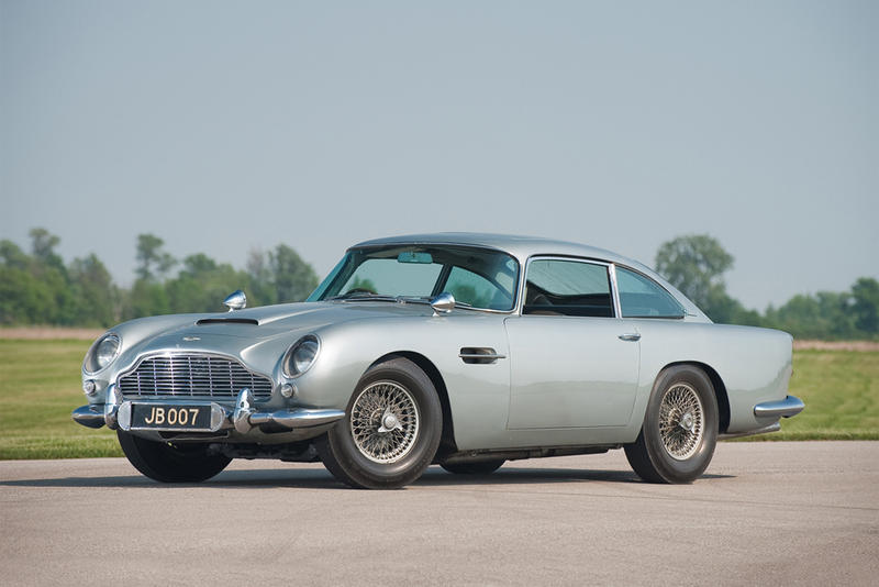 Aston Martin Db5 Back For James Bond S Skyfall Hypebeast