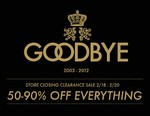 GOODS Seattle Store Closing