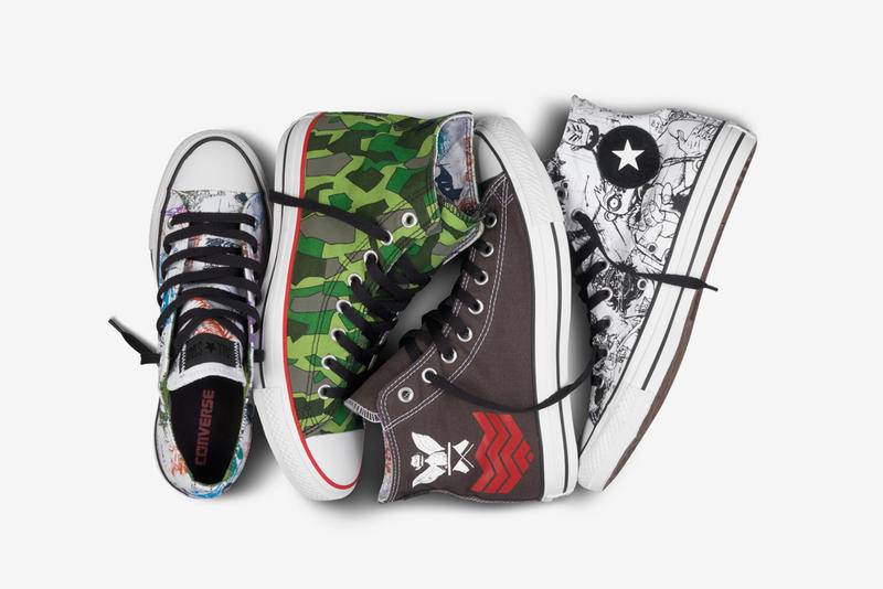 9a3959a0525903 Gorillaz for Converse Chuck Taylor All Star Collection. Converse has  unveiled four distinct design concepts for the newest footwear  collaboration with