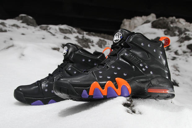 brand new ebb12 28c52 ... Black Safety Orange. The 2012 Spring Air Max Barkley sees the same body  employed as the Nike Air Max 2 CB  94 with an