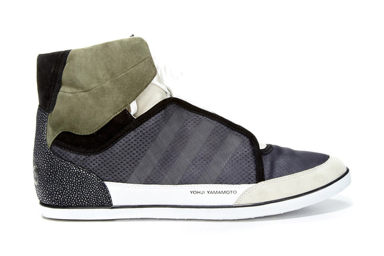eface8785 Y-3 2012 Spring Summer Honja High Top Mixed Media