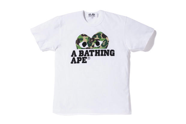 190be647 A Bathing Ape x PLAY COMME des GARCONS 2012 Capsule Collection ...