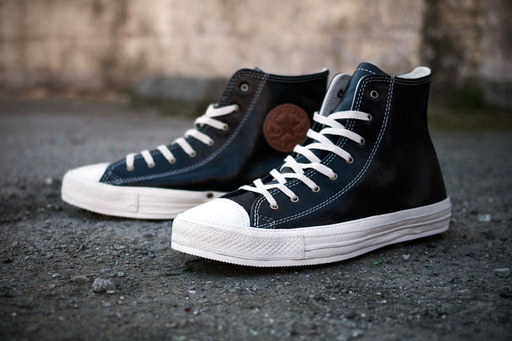 Debilidad nuez Empleador  Converse 2012 Spring Chuck Taylor Premium Black Leather   HYPEBEAST
