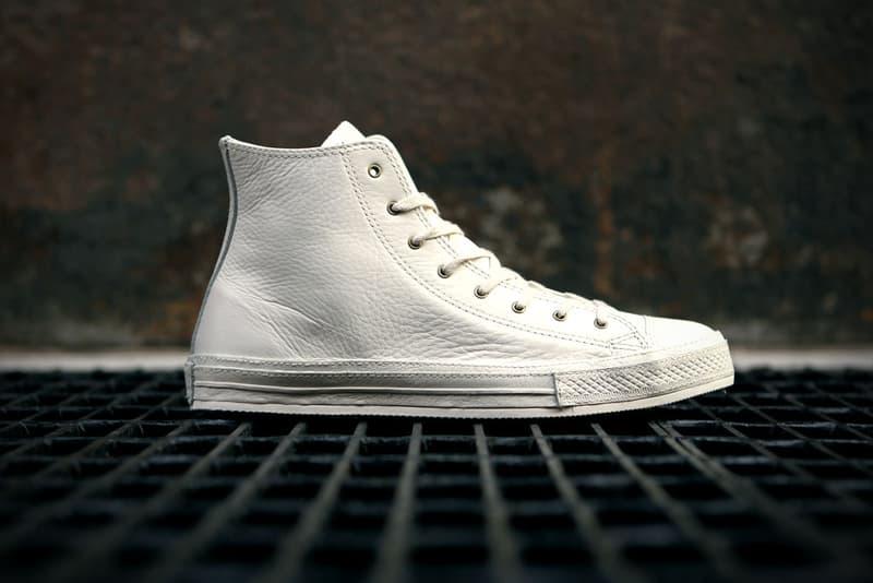 frágil alondra Analista  Converse 2012 Spring Chuck Taylor Premium White Leather   HYPEBEAST