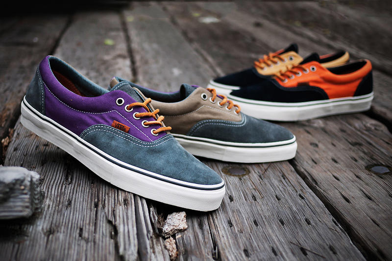 2e906ae929 The Vans Vault 2012 spring summer collection proudly presents the Era LX  Twill Canvas Pack in a