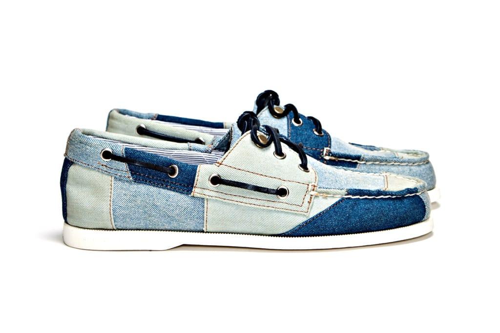 Eye Tri Tone Denim Boat Shoe | HYPEBEAST