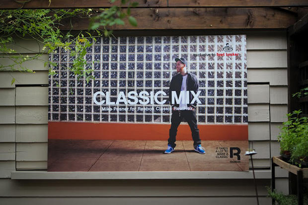 97c0e331384 Mike Posner x Reebok Classics RealFlex Foot Locker Exclusive Launch ...
