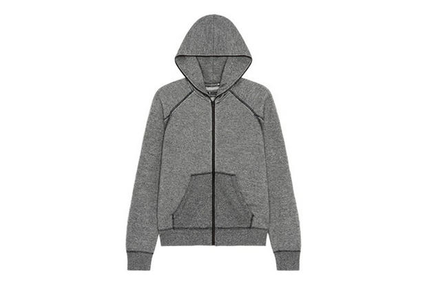 fed9b46f1393 T by Alexander Wang Zip-Up Hoodie. In keeping with his casual styling that  notably combines classic shapes with street chic