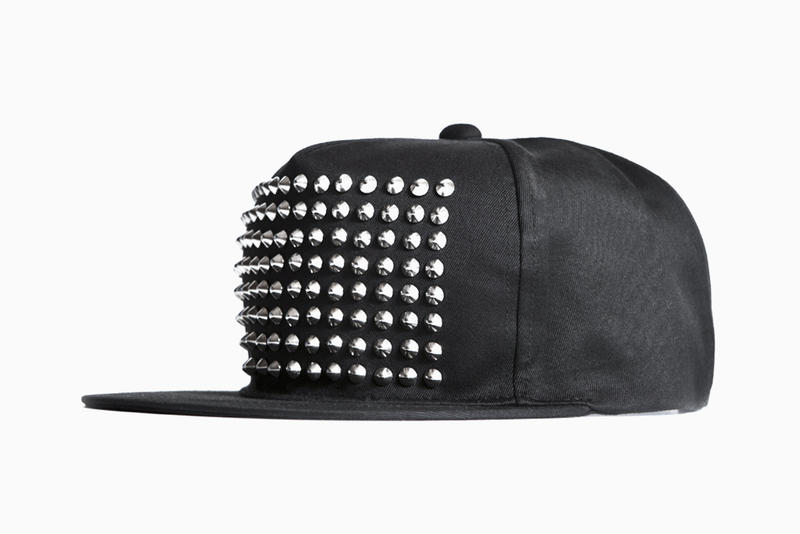 Stampd  The Silver Studded Snapback Hat  768fba61d96