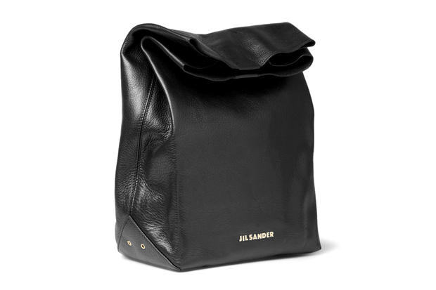 An Interesting Irony Of Sorts The Latest Leather Lunch Bag From Jil Sander Introduces A