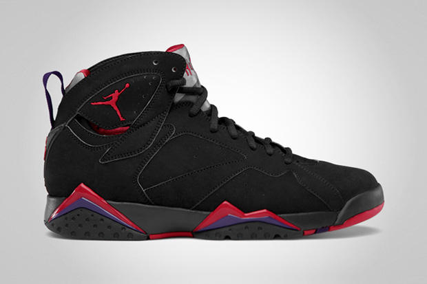 "e39af26f54fc News from the Jordan Brand brings word of the retro release of the Air  Jordan 7 ""Raptors."""