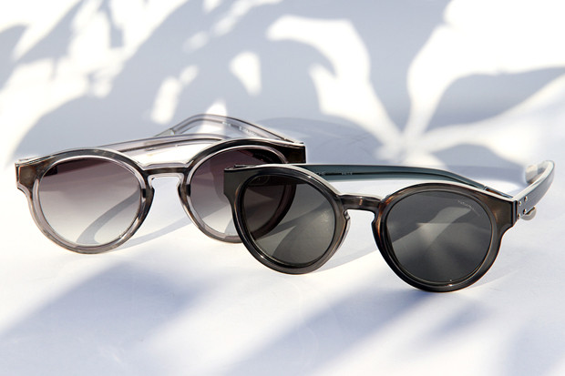 621d8239e09e Kris Van Assche x Linda Farrow 2012 Fall Winter Round Sunglasses