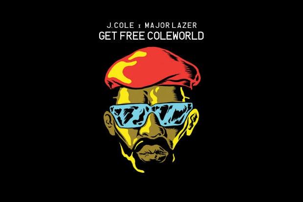 J. Cole x Major Lazer - Get Free ColeWorld  9aaf03dc6401