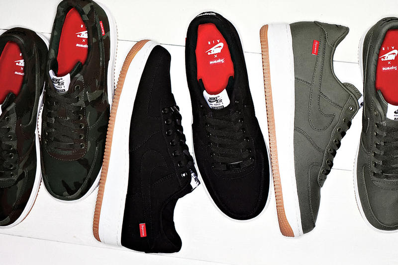 522cbf038 Supreme x Nike Air Force 1 2012. Following hot on the heels of the Nike SB  Dunk Low is this latest release in the long line of