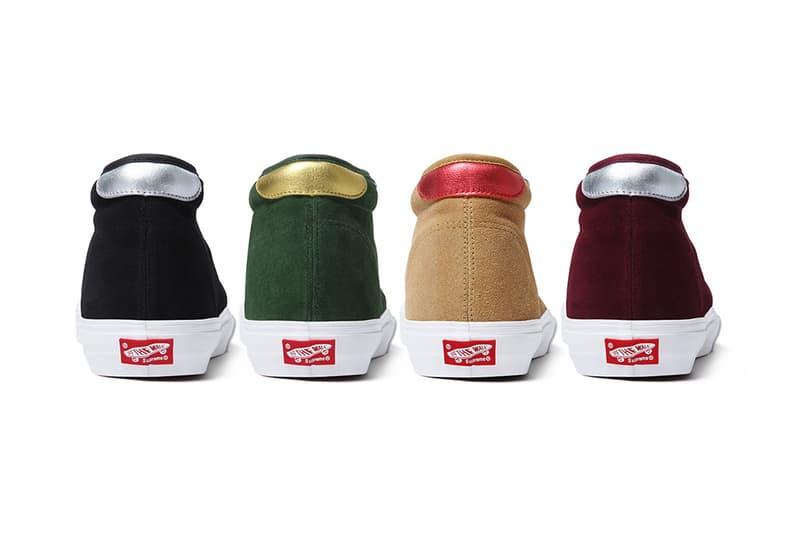 7566d54de85893 Supreme x Vans 2012 Fall Winter Collection