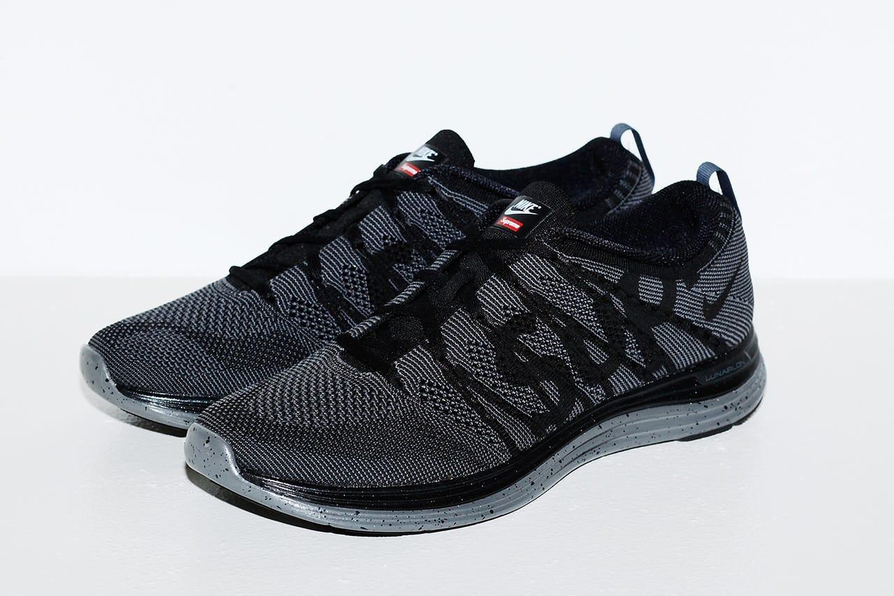 Supreme x Nike Flyknit Lunar 1+ | HYPEBEAST