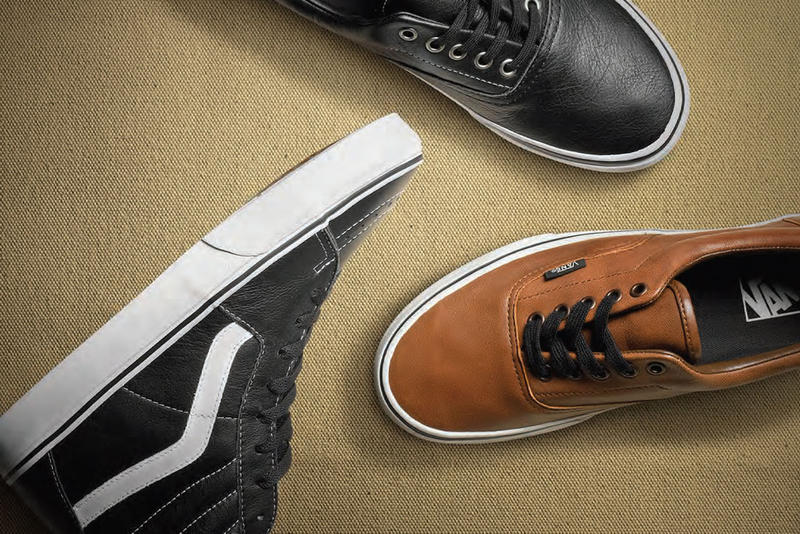 427151ab09 Vans Classics 2012 Holiday Aged Leather Pack