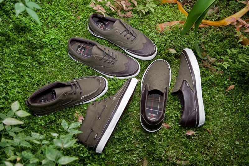 db2ab09dc066fe Barbour x Vans California Footwear Capsule Collection