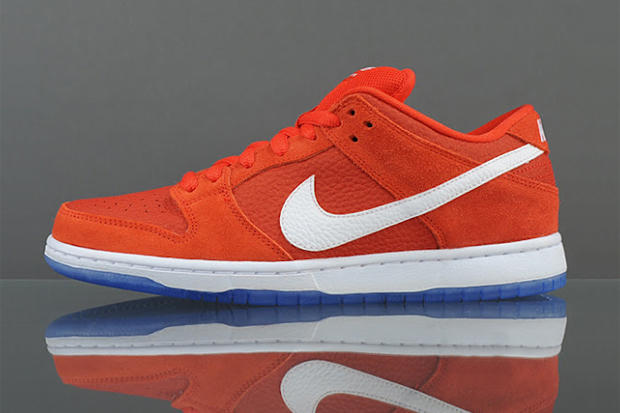 New from Nike SB as an October 2012 release is a bold Challenge Red White  colorway of the 44a026b57dd7