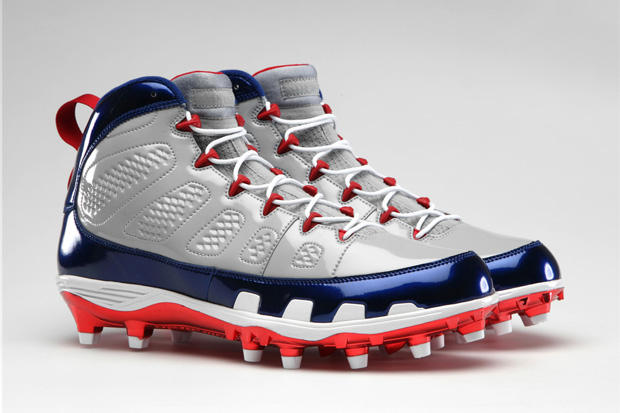 be1b2fe35 Jordan Brand Retro IX Football Cleats. Jordan Brand has been releasing a  slew of new basketball shoes lately but it hasn t forgotten about