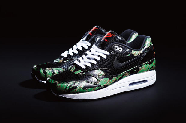 separation shoes 00e2c b4c83 atmos x Nike Air Max 1 Animal Camo Pack. Japan s atmos recently linked up  with Nike to present an animal-inspired pack featuring the storied